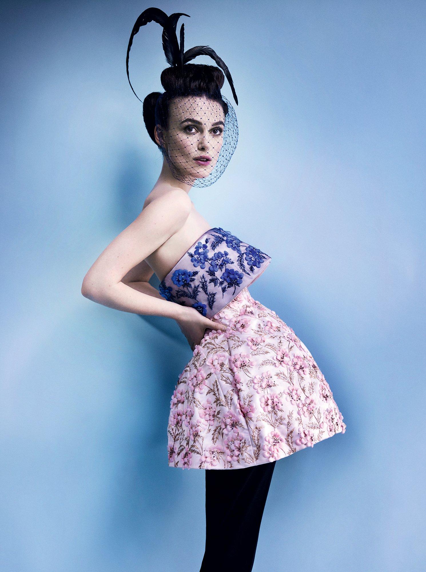 Keira Nightley in Christian Dior Haute Couture