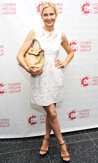"""Mix High-Low Pieces  Actress Kelly Rutherford splurges on a few key accessories to mix with her tried-and-true wardrobe staples. """"Once a year, I'd go and buy a beautiful Hermes bag . . . and I mix it in with my J. Crew and Club Monaco [outfits],"""" she tells  Us . """"I don't spend a lot of money on my everyday clothes.""""    Read more: http://www.usmagazine.com/celebrity-style/pictures/stars-favorite-timeless-fashion-tips-2013252/28829#ixzz3phOila6x  Follow us: @usweekly on Twitter 