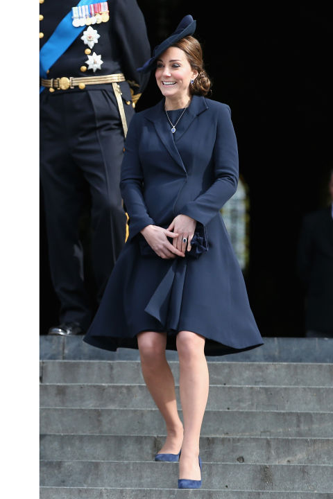 What:Beulah London coat  When:March 13  Where:Attending a Service of Commemoration for British troops formerly stationed in Afghanistan at St. Paul's Cathedral