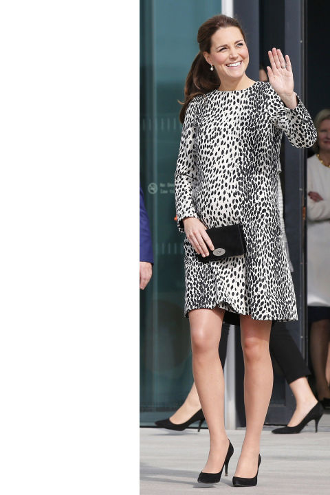 What:Hobbs dress (another favorite from her pregnancy with Prince George)  When:March 11  Where:Margate, England
