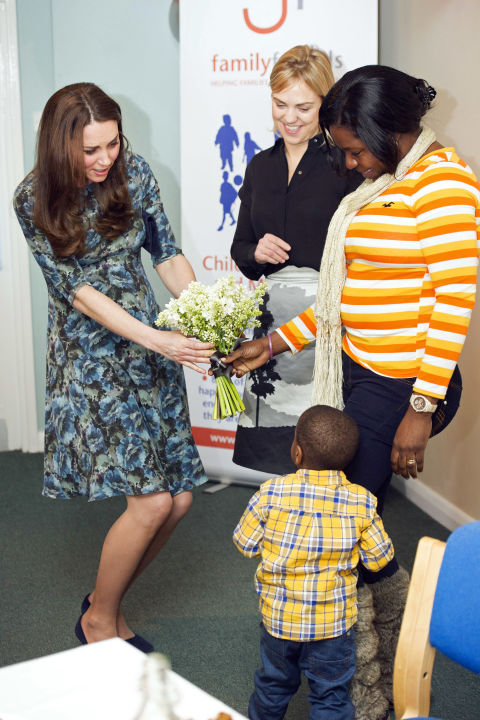 What:Seraphine dress  When:January 19  Where:Visiting Family Friends in Kensington, London  GETTY