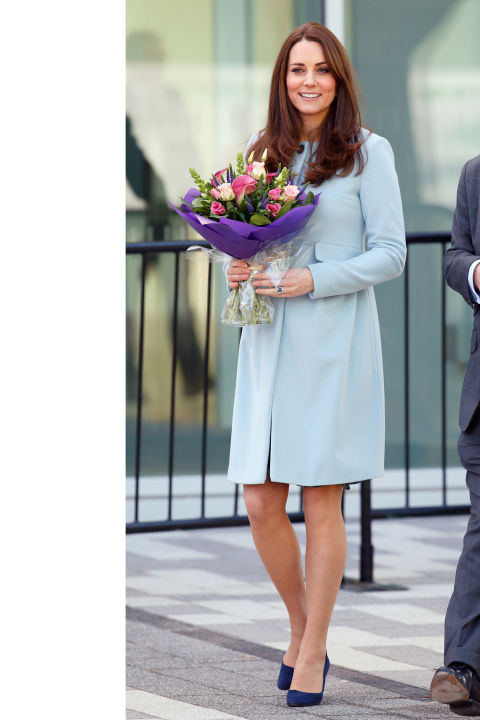 What:Seraphine coat  When:January 19  Where:Opening the Kensington Leisure Center in London  GETTY