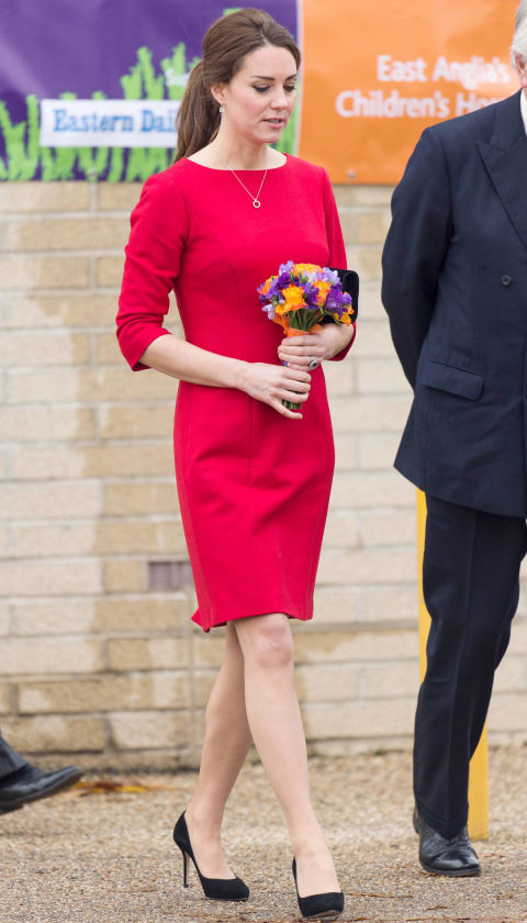 What:Katherine Hooker dress  When:November 25  Where:East Anglia's Children's Hospices (EACH) in Norfolk  GETTY IMAGES