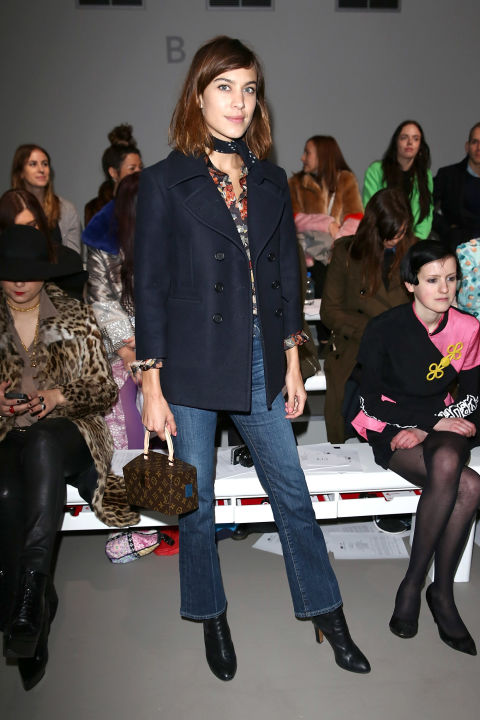 We absolutely love jeans,j  ust make sure you always add heels and keep the silhouettes and washes classic.