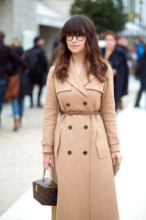 Forgo the trends each season and focus on purchasing coats that are forever: classic camel, navy pea, black moto, belted trench, raw denim—every time you reach for a topper, you won't regret it.