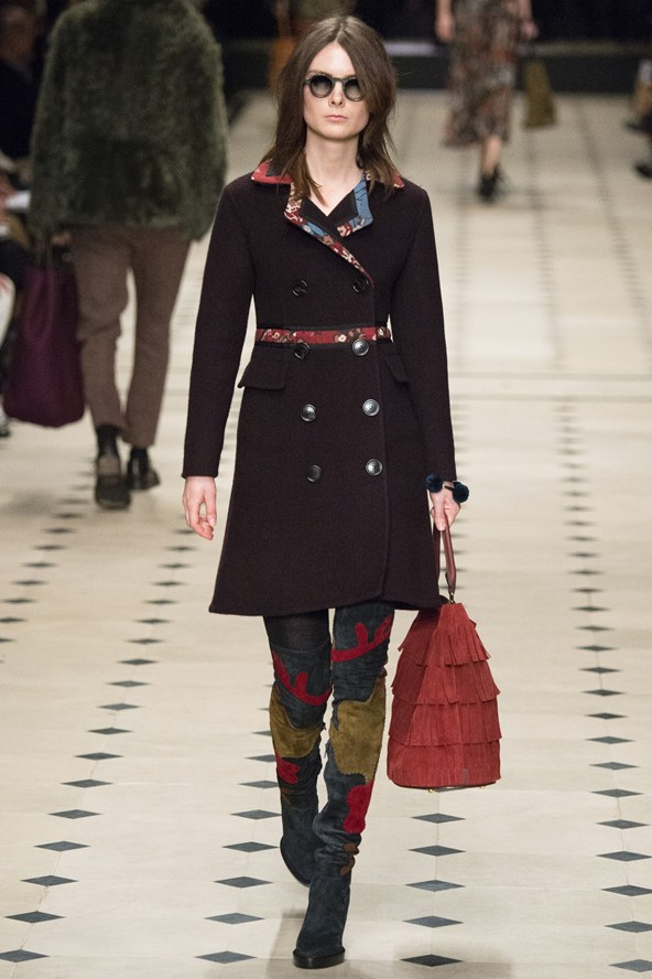 5. Thigh's the limit   Burberry Prorsum Thigh-high boots are the raciest way to avoid tights all winter, as seen at Burberry. Shelve last season's Seventies-inspired knee-high versions and prepare to encase your legs in an instant look-enhancer. Added bonus? When surpassing hemlines cuissardes make legs look like they go on for miles and miles