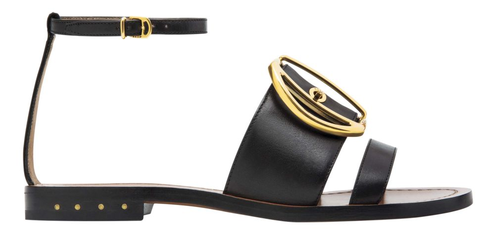 Bally sandals, $695, 844-44-BALLY.  STUDIO D