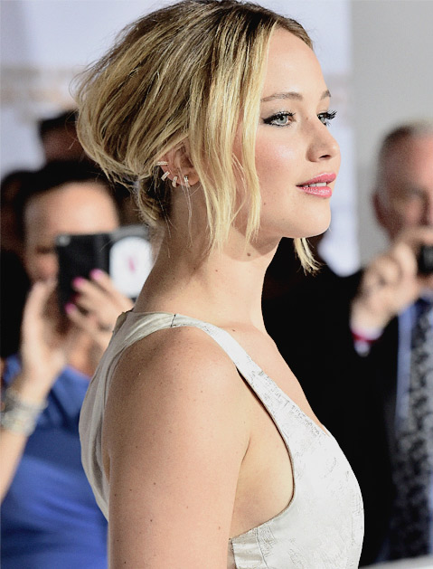 You've probably noticed the trend in recent months on your favorite red-carpet celebs, like Jennifer Lawrence.