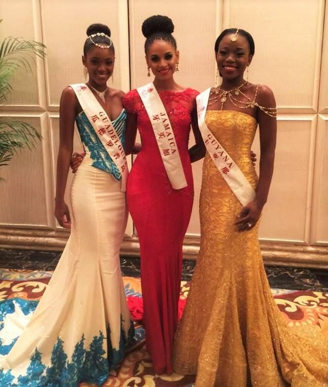 Miss Jamaica Looks Stunning At Miss World S Fashion Designer Show Neonfix Nyc