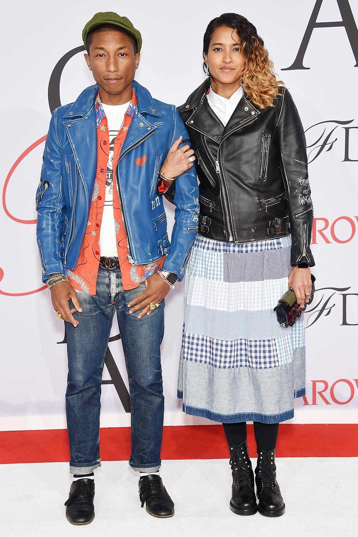 Pharrell Williams and wife Helen Lasichanh
