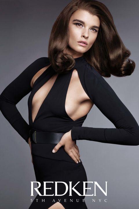 Crystal Renn for Redken's Chromatics Ultra Rich Professional Hair Colour  Txema Yeste