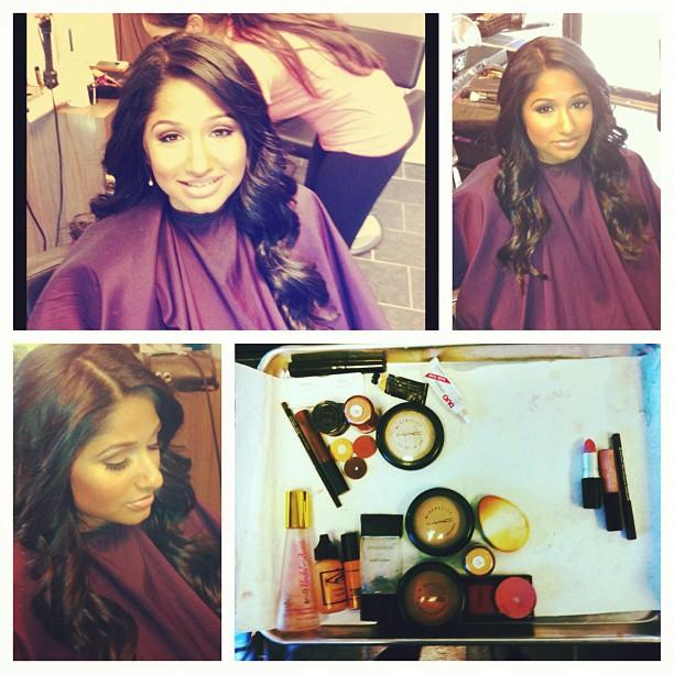 Hair by Krish Jones / Makeup by Jhenelle