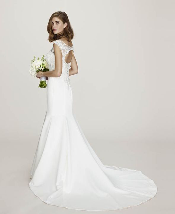 The elegant Alicia wedding dress is just £395 [BHS]