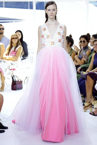 Delpozo   The fantasy wedding dress of every little girl is realized, but with better materials and demi-couture embellishments. The only thing missing is the crown—and Ken.  Photo: Indigitalimages.com
