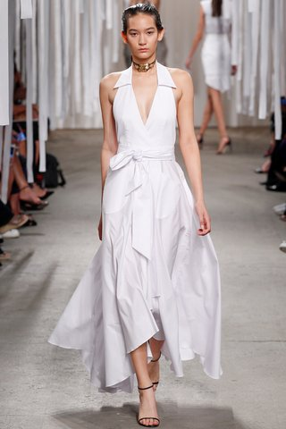 Milly   The all-American shirtdress grows up for a seaside ceremony on the Cape.  Photo: Indigitalimages.com