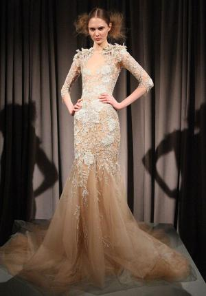 Behati Prinsloo Marchesa Inspired Wedding Dress.  Marchesa
