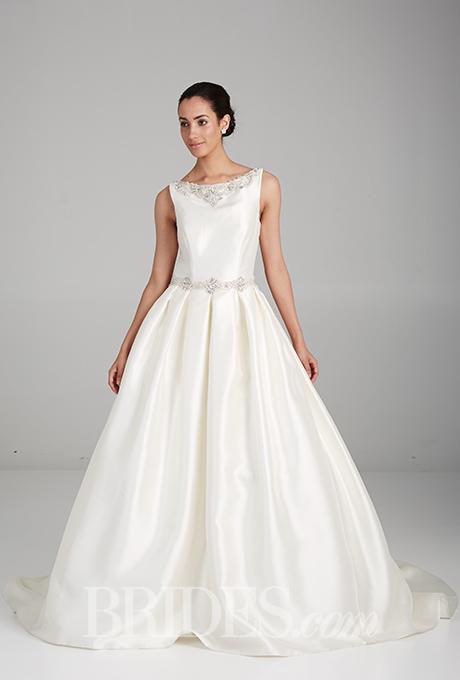Wedding dress by  Impression Bridal    Photo: John Scott