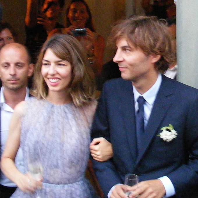 Photo: Getty Images    Sofia Coppola   The avant-garde director married longtime boyfriend, Phoenix front-man Thomas Mars, in August 2011, in a knee-length custom lilac chiffon dress by Azzedine Alaïa. It's chic and fresh, just like her!