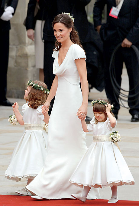"Photo: Getty Images   The  Other  Dress  On April 29, Kate was the embodiment of every girl's princess fantasies. But her sister, Pippa, also scored a stylistic home run. By the end of May, says a spokesperson for JS Collection, department stores had placed hundreds of orders for copies of the Kate dress—but thousands for frocks like Pippa's. ""If you're having a casual or destination ceremony, Pippa's dress is perfect,"" says Rentillo.  Of course, P-Middy, as the British press call her, is also changing the way attendants dress. ""I predict we'll see more bridesmaids in white this year,"" says Dallas event planner Todd Fiscus. You can also expect to see fewer of them: ""I've met many brides who wanted just a maid of honor and best man but didn't have the nerve,"" says New York event planner Marcy Blum. ""After Kate and Will did it, they feel validated.""   Browse Pippa Middleton-inspired dresses here."