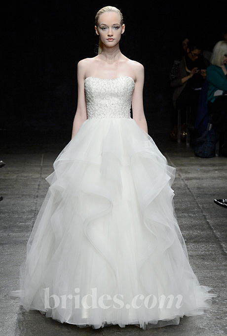 Alvina Valenta   Gown by  Alvina Valenta     Browse more Alvina Valenta wedding dresses.   Photo: Steve Eichner