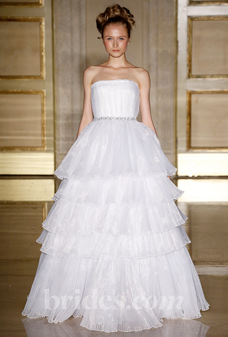 Douglas Hannant   Gown by  Douglas Hannant     Browse more Douglas Hannant wedding dresses.   Photo: George Chinsee