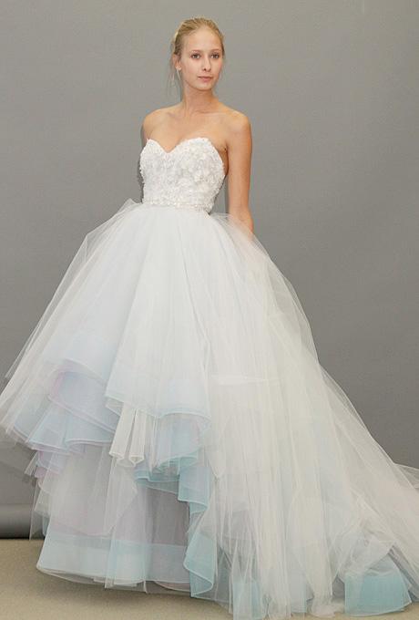 Lazaro   Gown by  Lazaro     Browse more Lazaro wedding dresses.   Photo: John Aquino