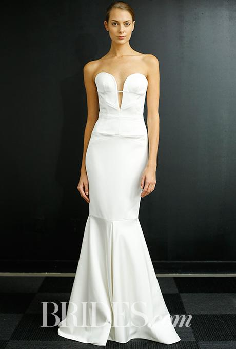 Wedding dress by  J. Mendel    Photo: Luca Tombolini / Indigitalimages.com    less