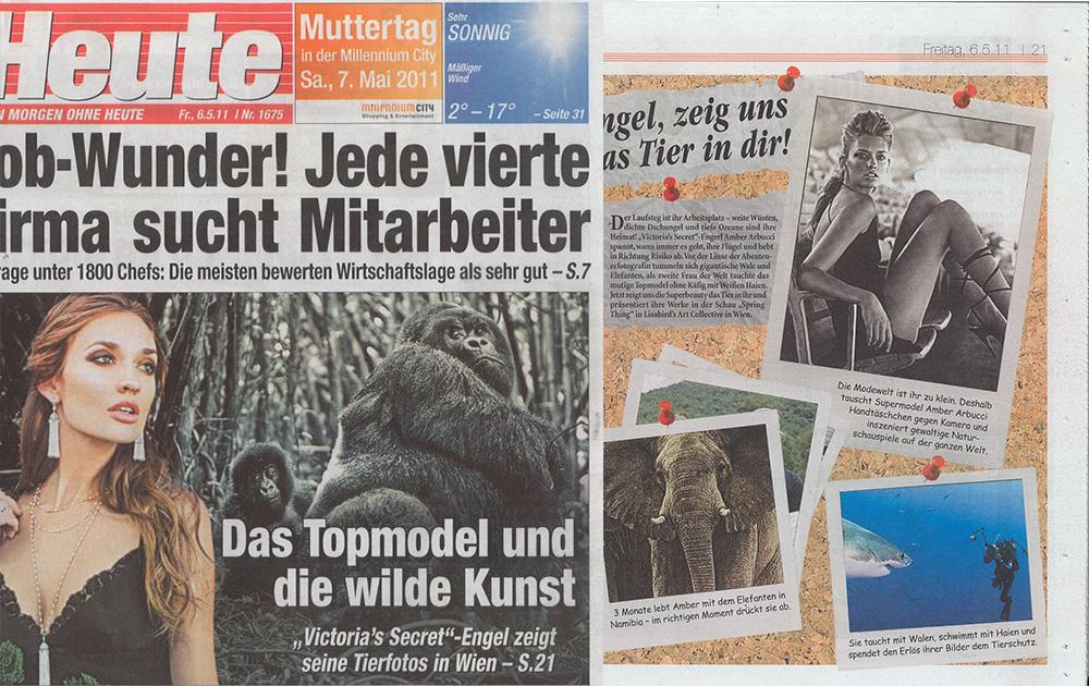 Heute Newspaper Vienna, Austria