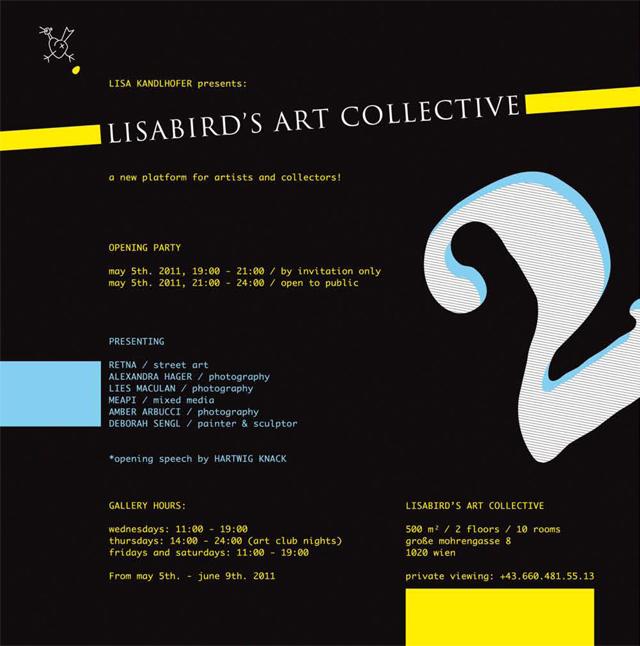Exhibition at Lisabird's Gallery in Vienna, Austria