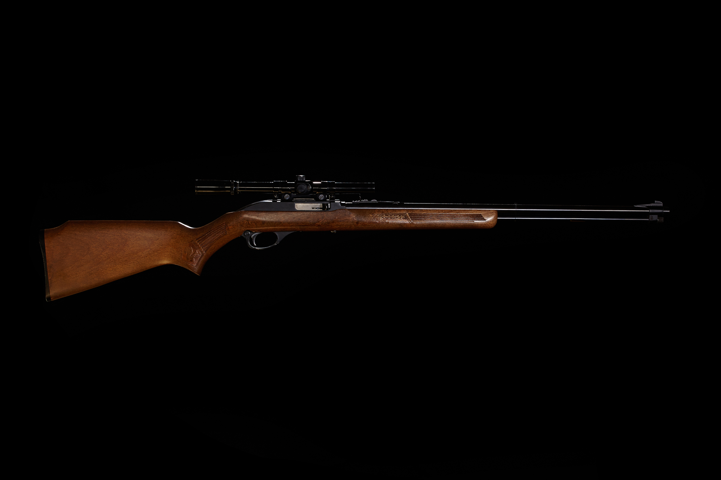 A Glenfield Model 60 just like the one my Grandpa took me to shoot when I was a child.