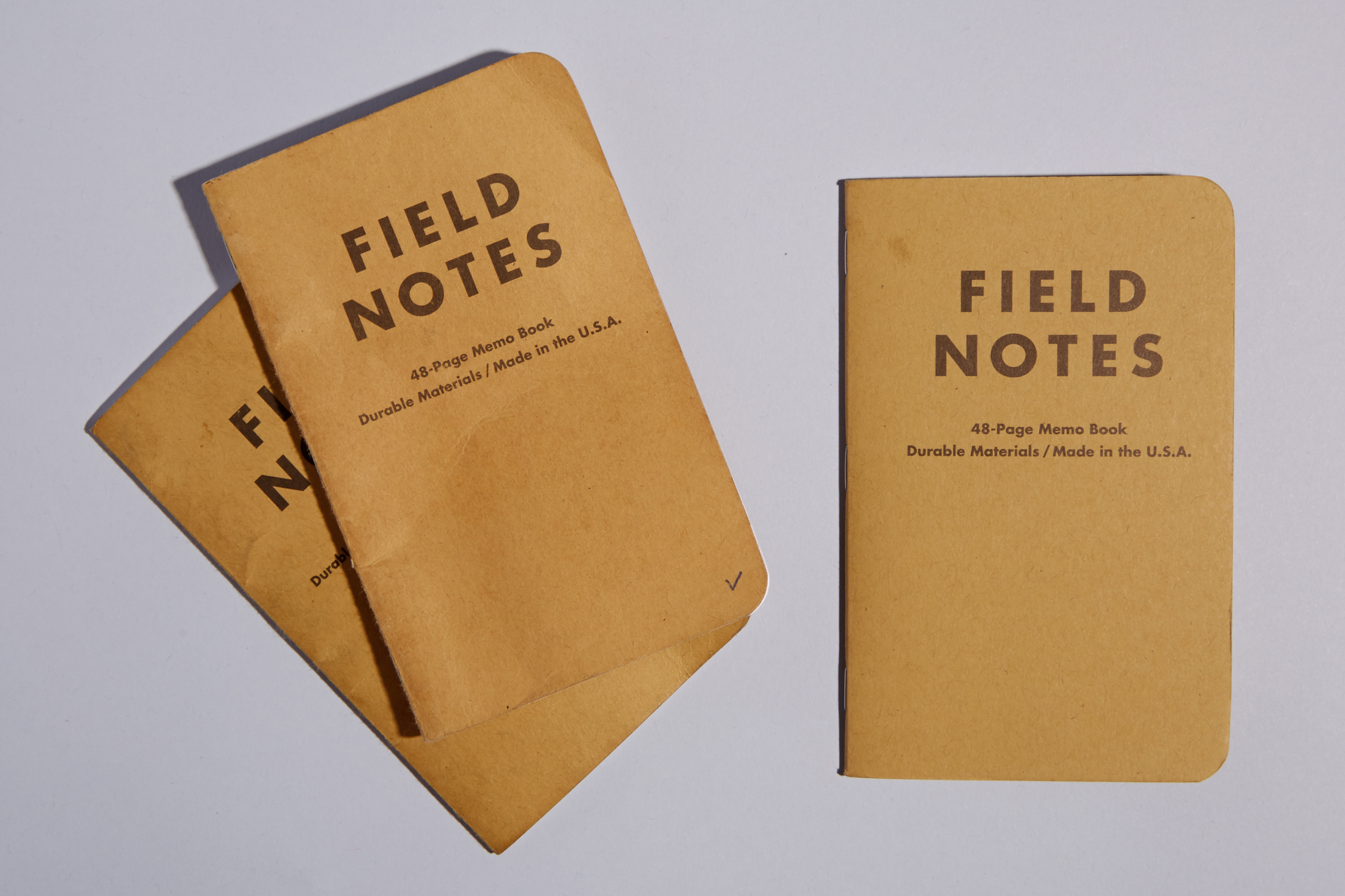 Field Notes. The best memo books around.
