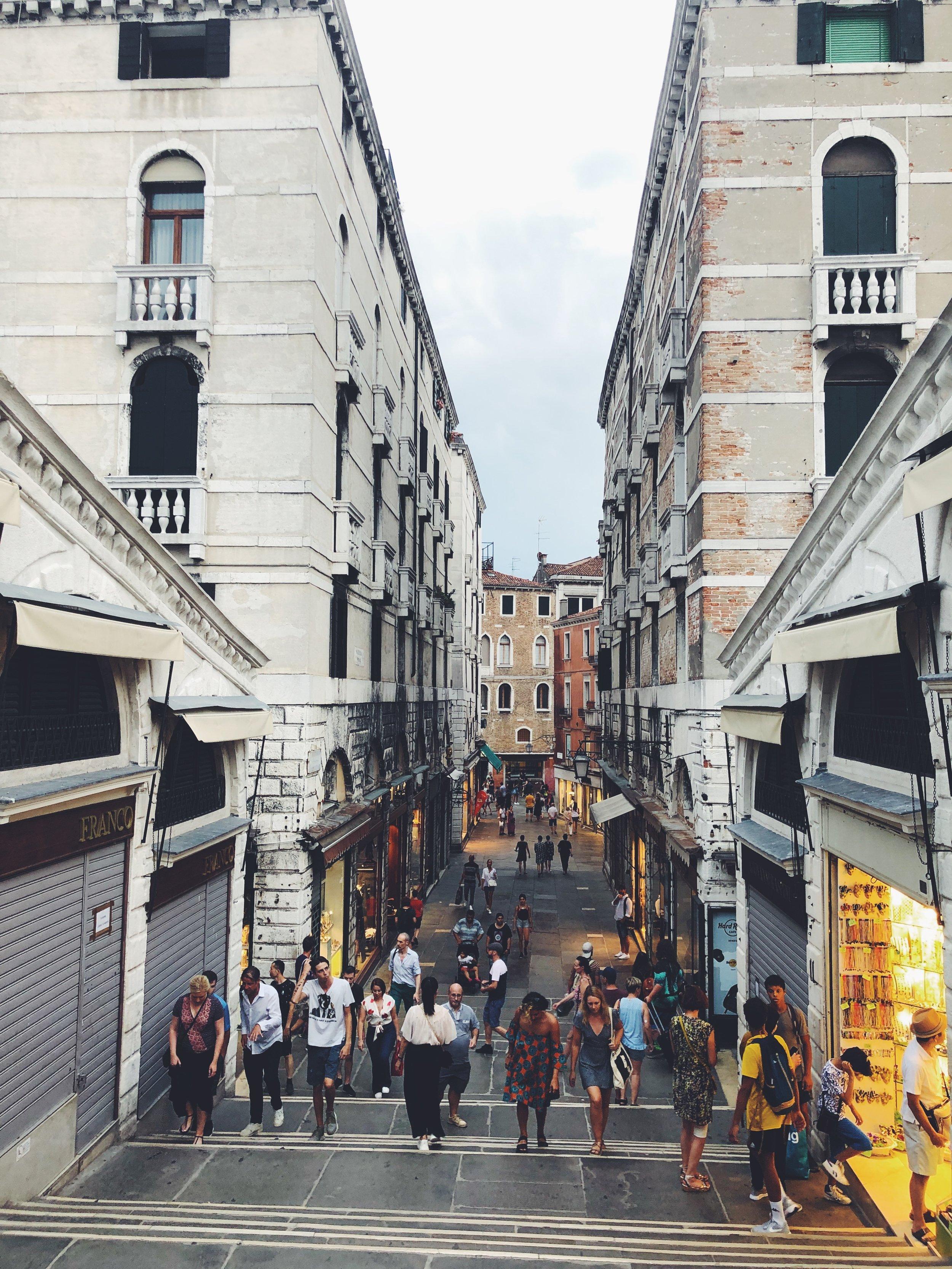 Walking Down the Rialto