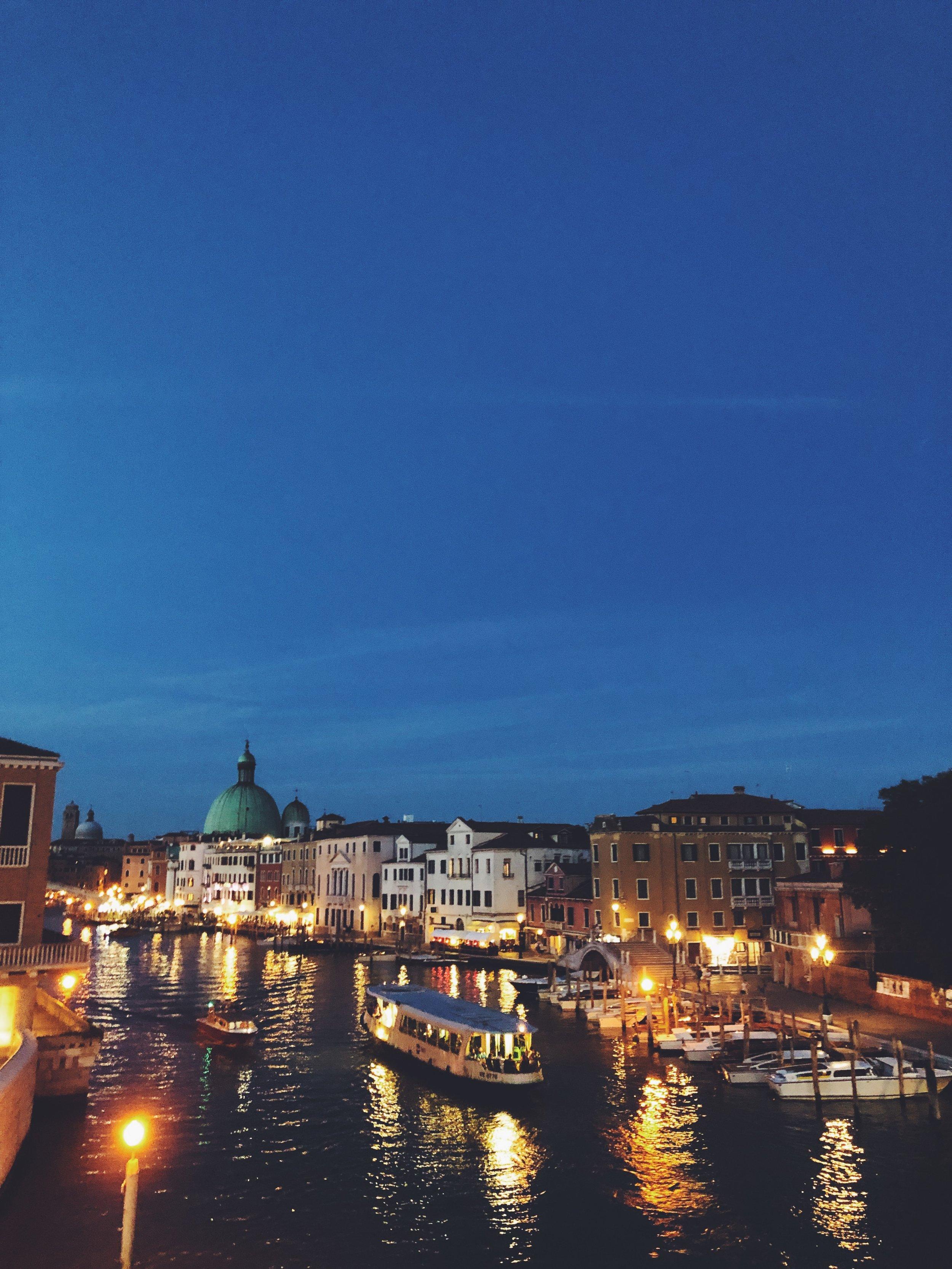 View from the Ponte della Costituzione