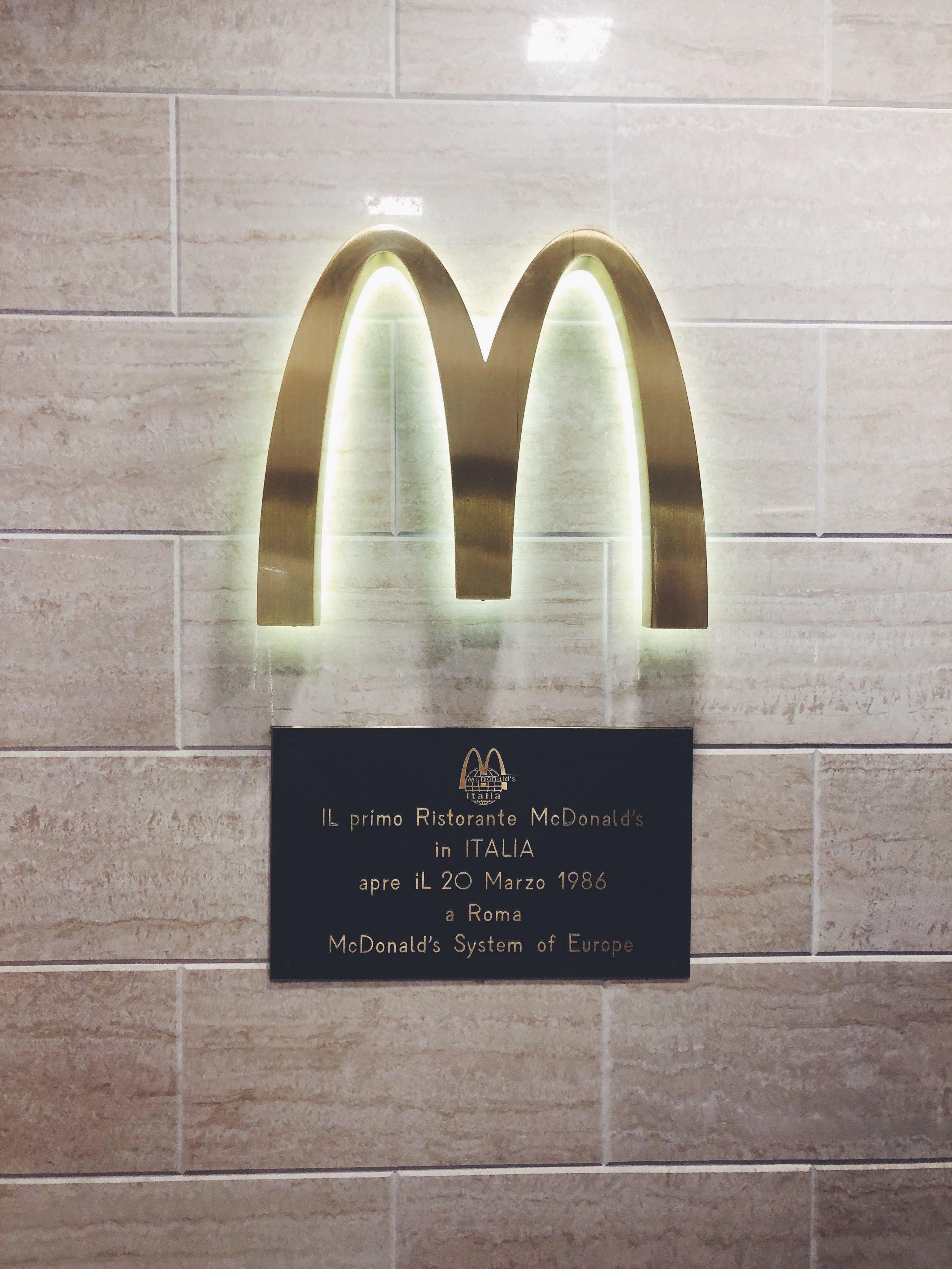 Hello McDonald's!