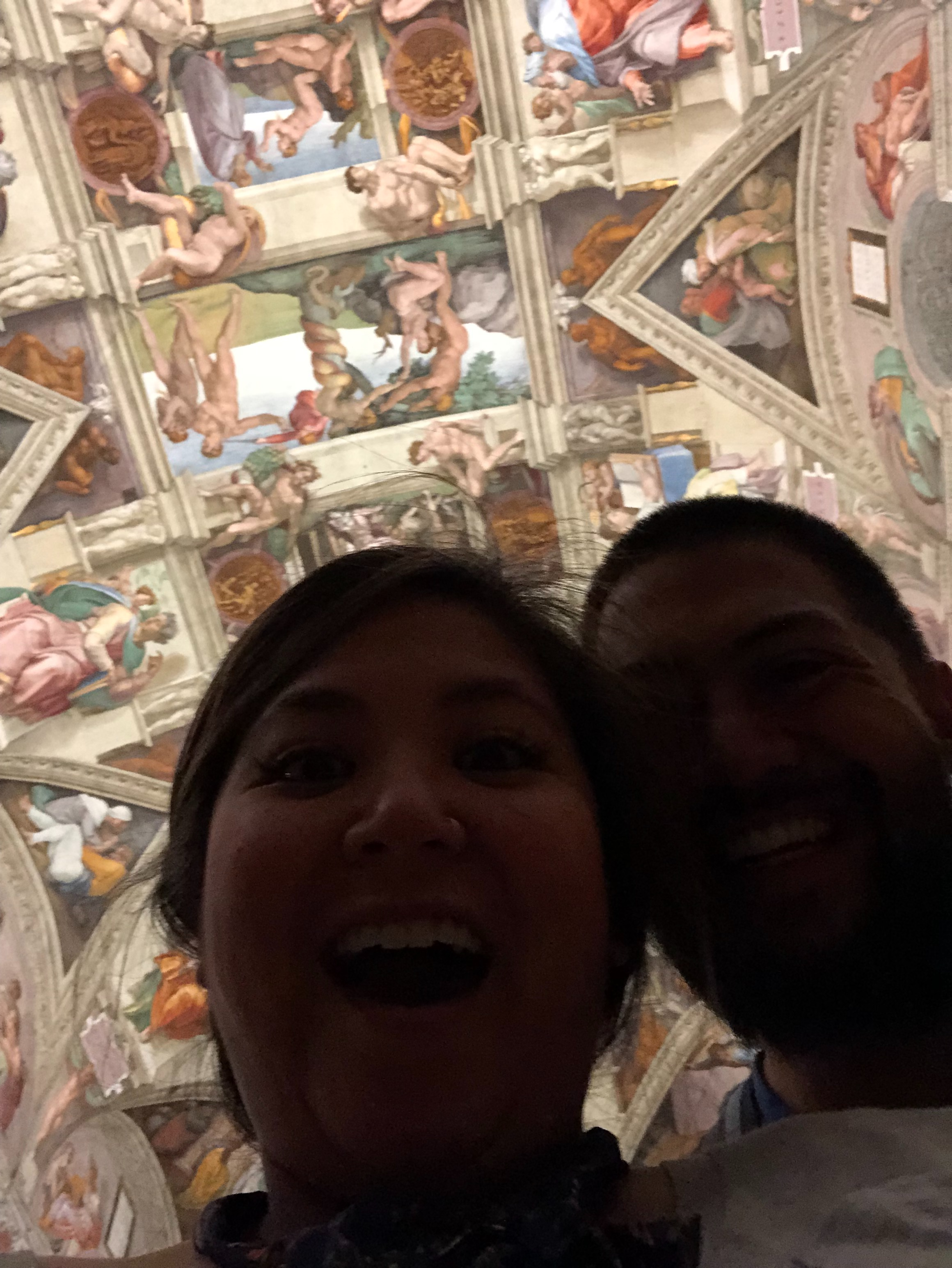 Snuck a Selfie in the Sistine!