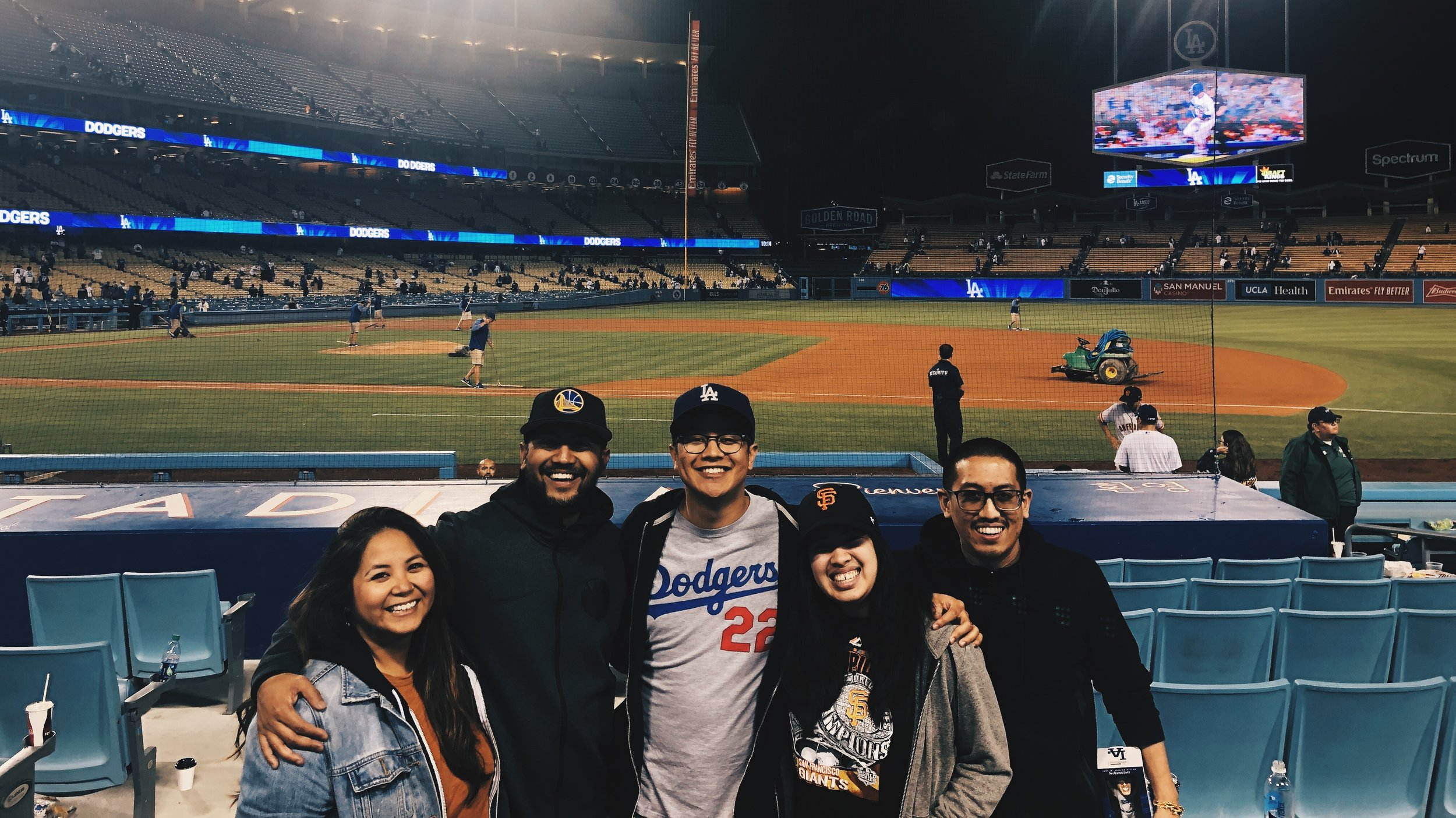 Hate the Dodgers. Absolute LOVE our brother-in-law Donovan!