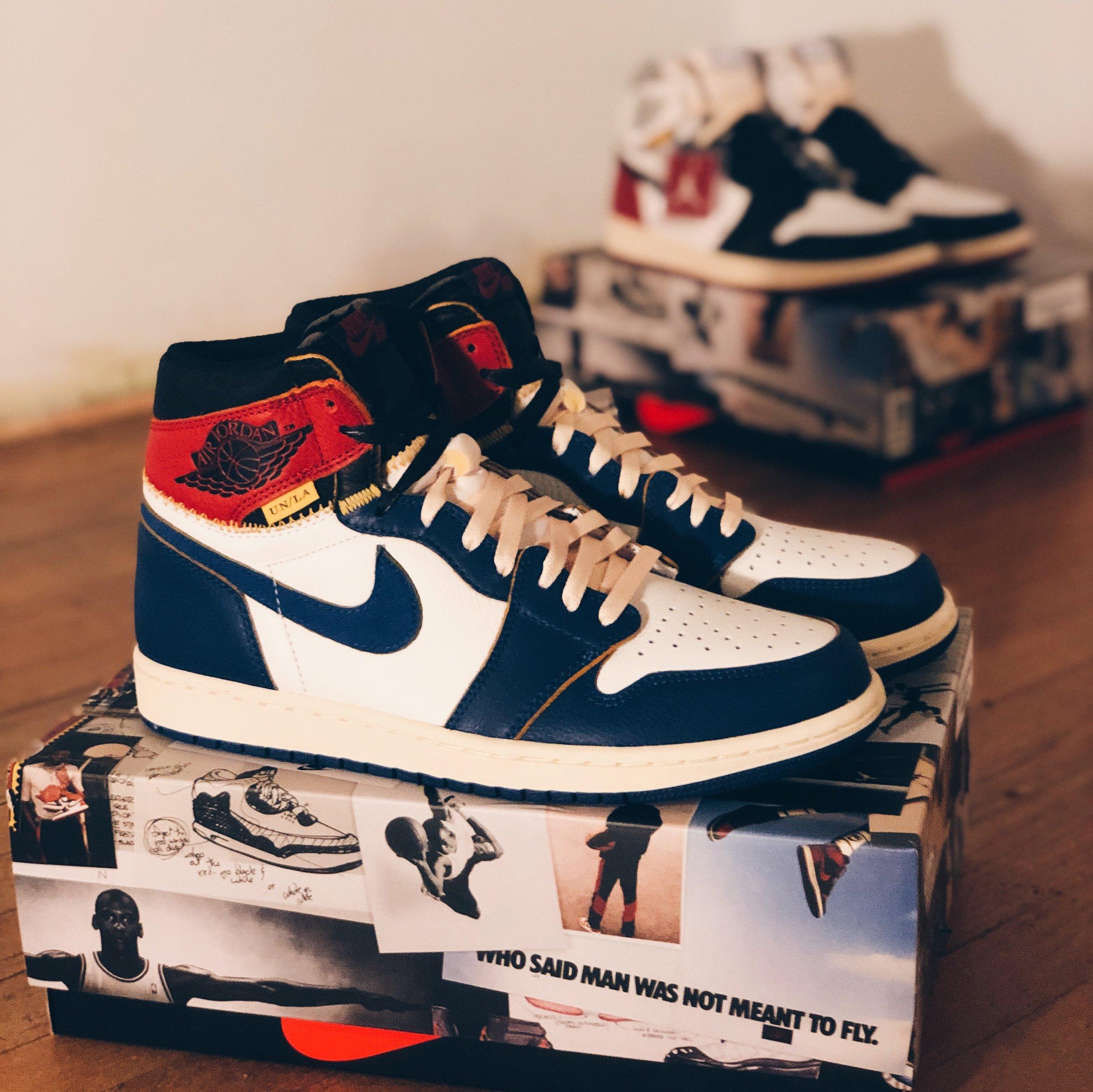 Air Jordan x Union I's
