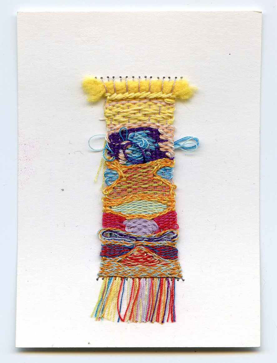 Tiny Weaving No. 3