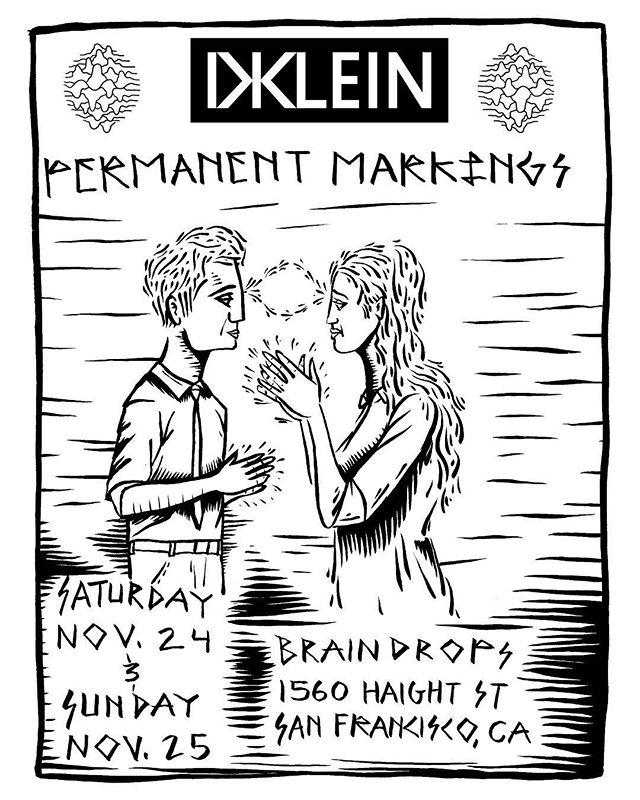 If you missed him last time, the incredible @dustinklein_ will be joking us for a very limited time. Nov.23-24. Feel free to contact him @permanentmarkings to set up your appointment. #bayareatattoo #haightstreet #sanfrancisco #sanfranciscotattoo #permanentmarkings