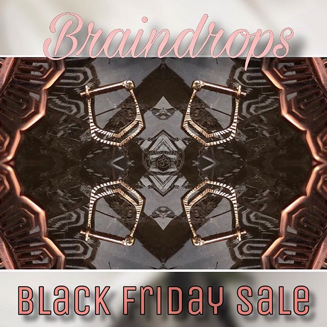 🔥BLACK FRIDAY SALE!🔥 -10% Off all gold ends! -20% Off all basic jewelry! -30% Off all plugs and hanging designs! Don't miss these fire deals! . . . Braindrops Black Friday Sale begins at 12pm November 23, 2018 and will end at 8pm.  #braindrops #braindropssf #haight #upperhaight #braindropslovesyou #braindropstattoos #gold #allgoldeverything #goldbodyjewelry #sanfrancisco #haightstreet #california #plugs #gauges #blackfriday #blackfridaysale #tattoos #bayarea #frisco #sf #sale #quetzallijewelry #mayajewelry #stoneplugs #anatometal #anatometalinc #