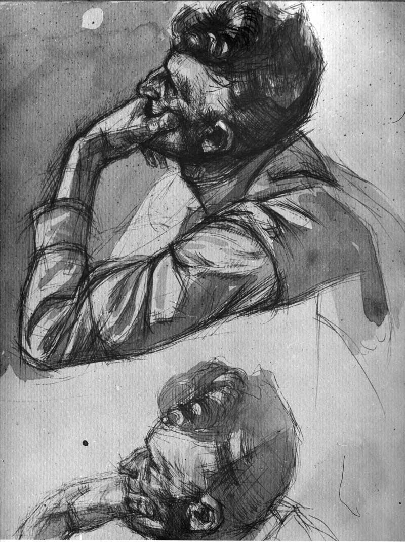 Study for Composition Sverdlov