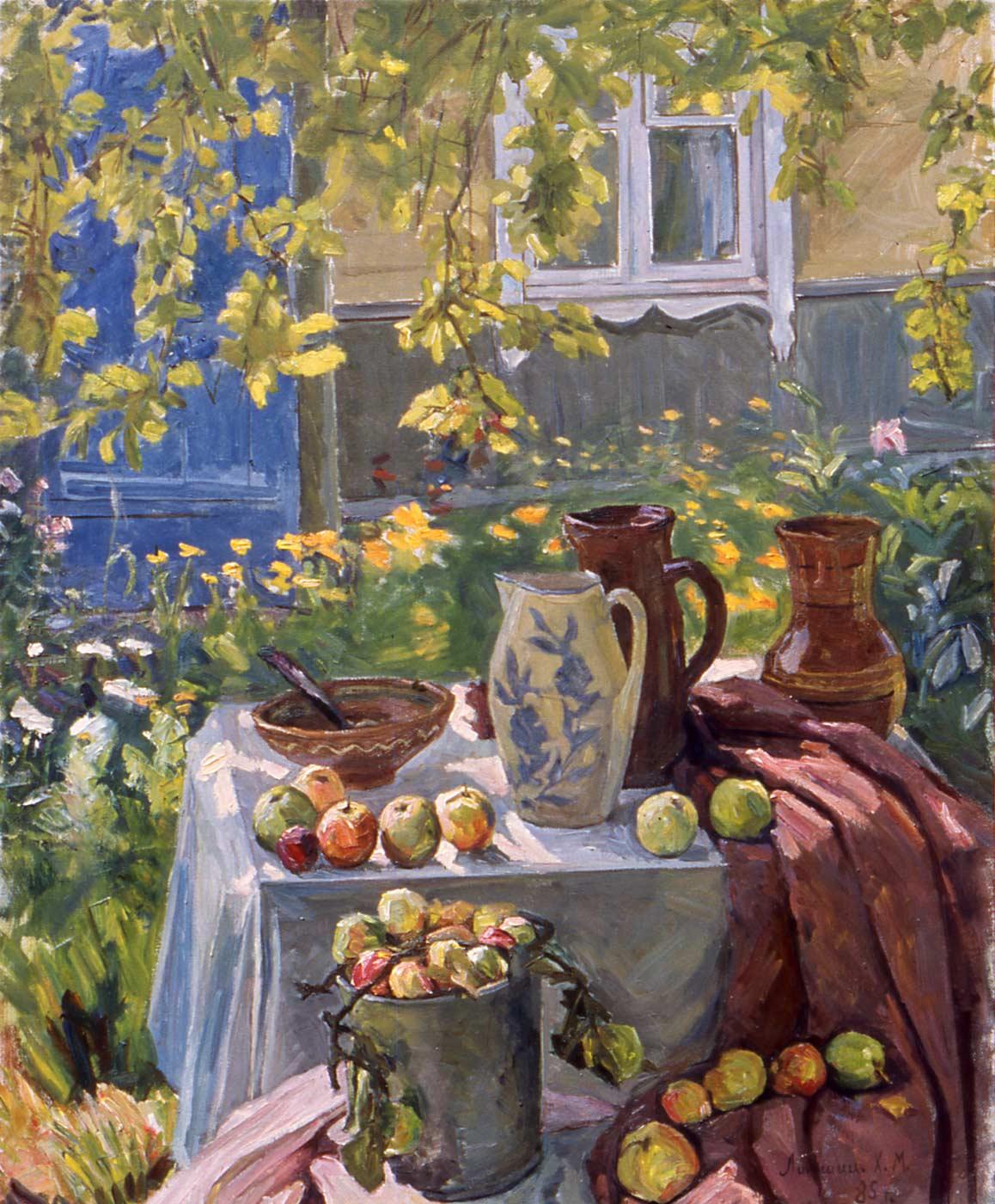 Still Life in the Garden