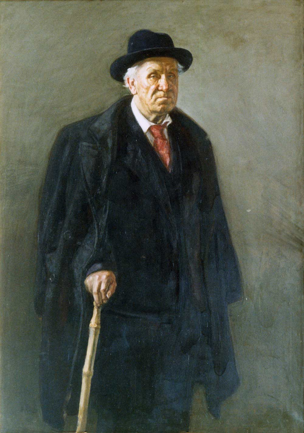 Portrait of composer Churkin