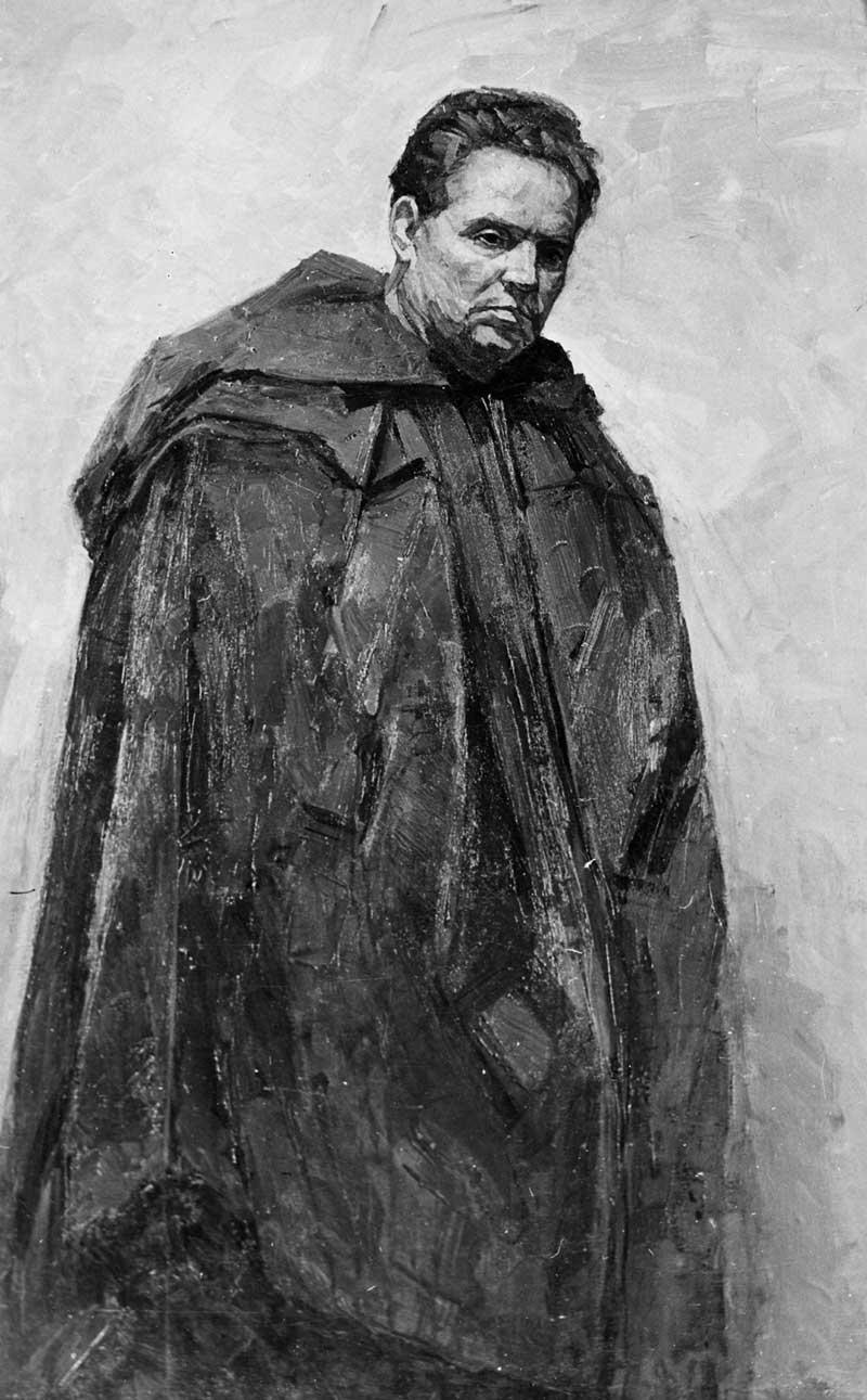 Portrait of a hero of Brest K. V. Sobolevsky