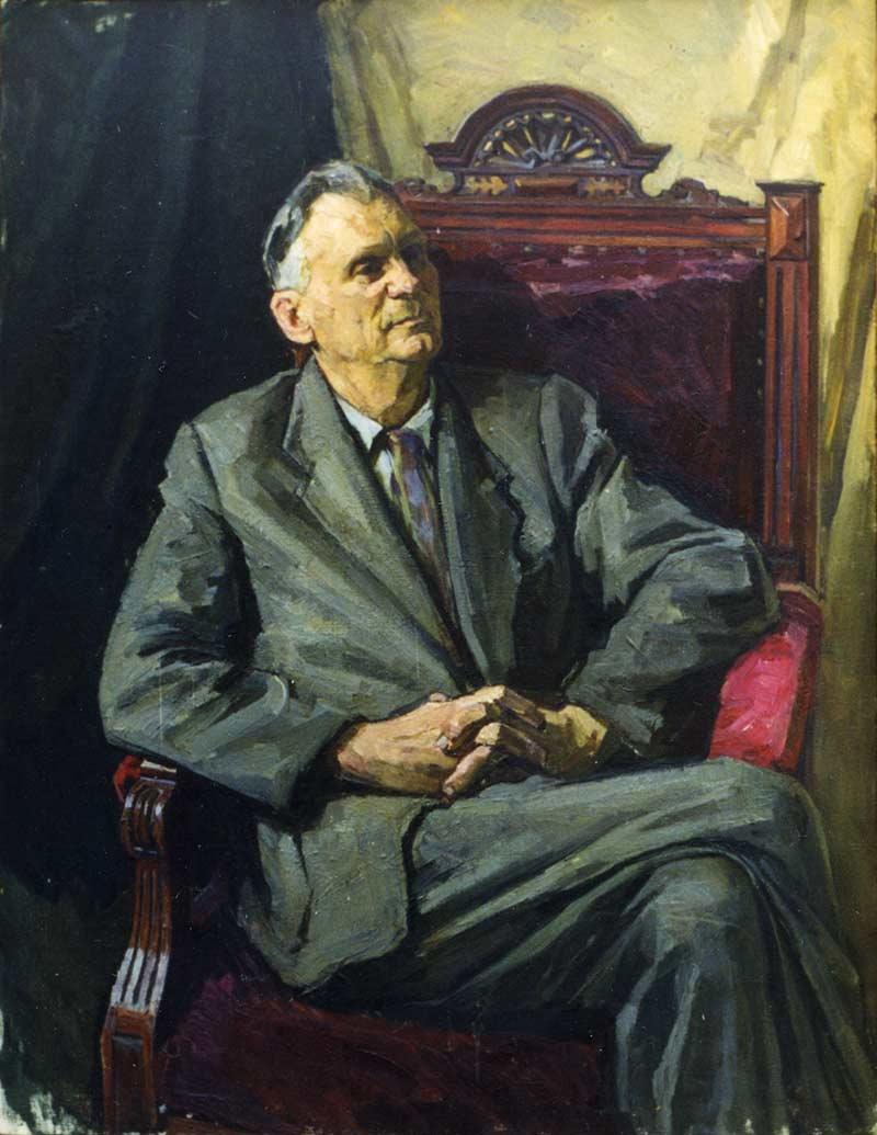 Portrait of A.M. Tichyna