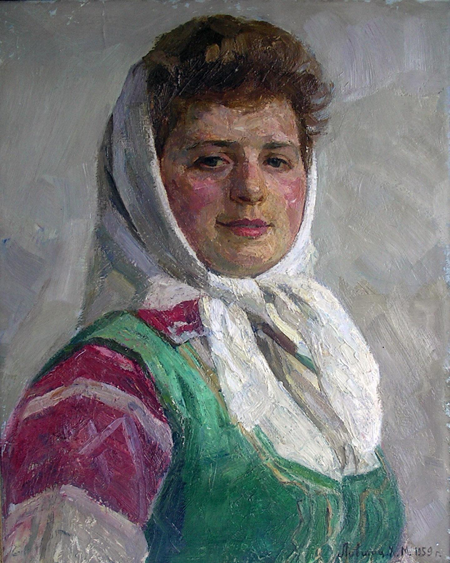 Portrait of Belarusian Girl