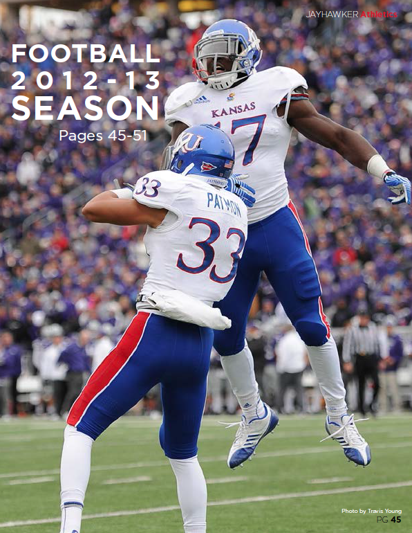 football divider / Jayhawker Annual Magazine