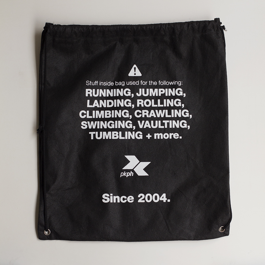 Every PKPH Signature Raglan Generation 2 Shirt is inclusive of a FREE multi-purpose eco bag.