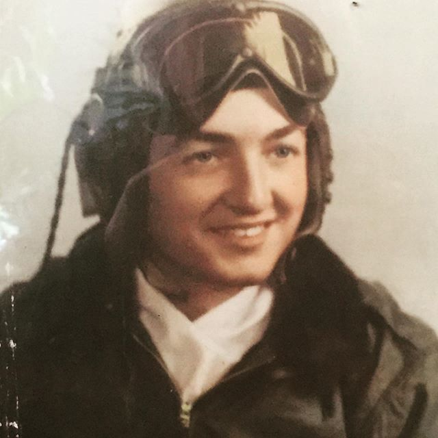 My grandfather, Jesse Floyd Crossley @18yrs of age. A B24 Nose Gunner who flew 30 missions over Nazi Germany. #memorialday