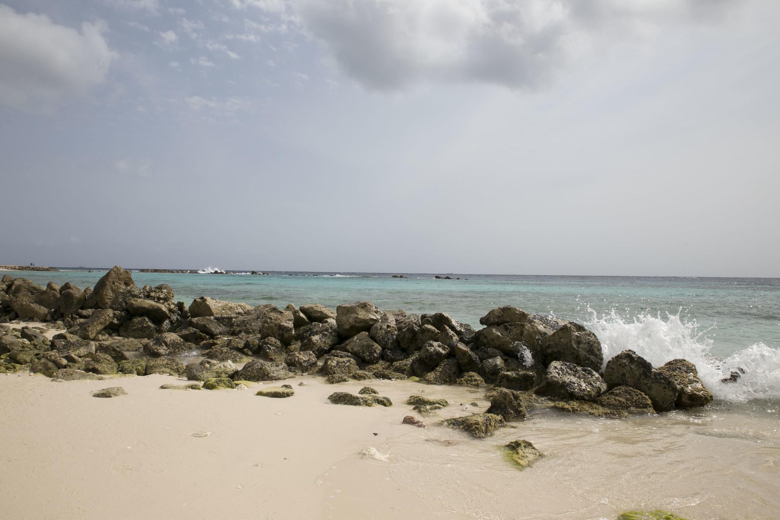 "The Beach at the ""Curacao Marriott Beach Resort & Emerald Casino"""